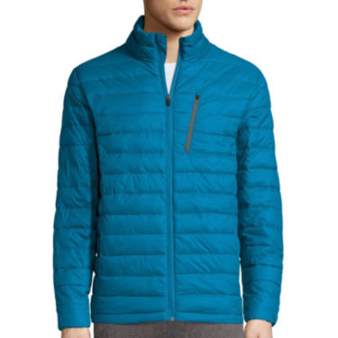 Bargain - $30 (was $100) - Xersion® Packable Puffer Jacket @ JCPenney