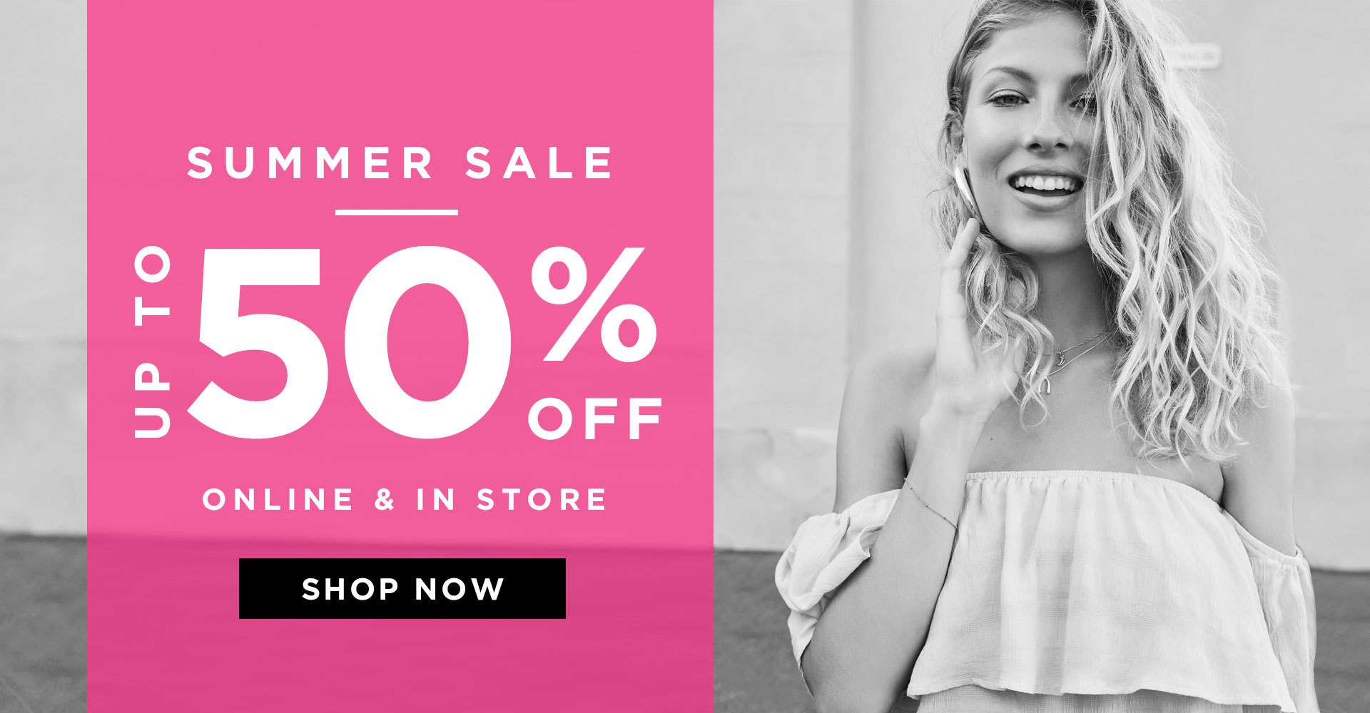 Bargain - Up to 50% OFF - Summer Sale @ Glassons
