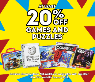 Bargain - At least 20% OFF - Games & Puzzles @ Whitcoulls