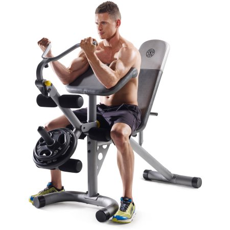 Bargain - $97 (was $199) - Gold`s Gym XRS 20 Olympic Workout Bench - Walmart.com