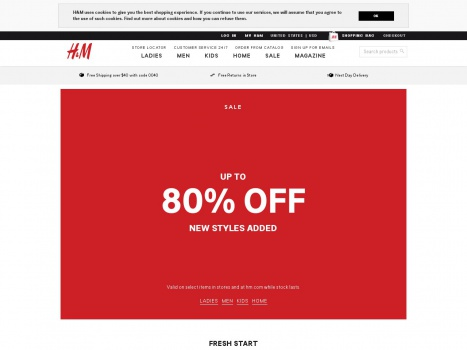 Bargain - Up to 80% OFF - H&M Winter Sale
