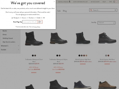 Bargain - Up to 70% OFF - Men`s Comfortable Boots on Sale   Rockport