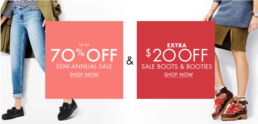 Bargain - Up to 70% OFF - Semi-Annual Sale @ Nine West