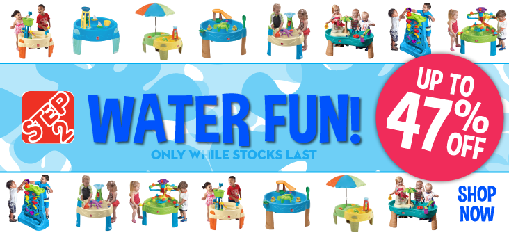 Bargain - Up to 47% Off - Step 2 Water Tables @ The Baby Factory
