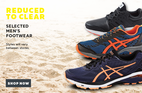Bargain - Reduced to Clear - Selected Men`s Footwear @ Rebel Sport