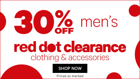 Bargain - 30% Off - Men`s Clothing & Accessories @ Farmers