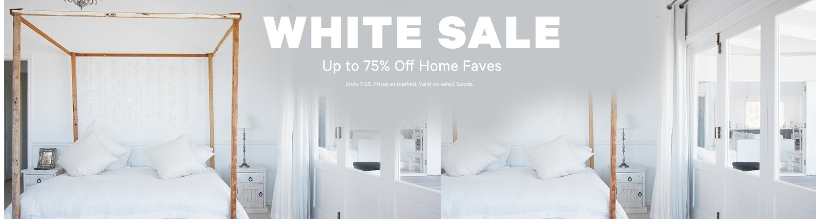Bargain - Up to 75% OFF - White Sale Home Faves | Groupon