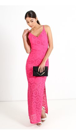 Bargain - $69.95 (was $89.99) - Floral Lace Maxi Dress @ Pagani