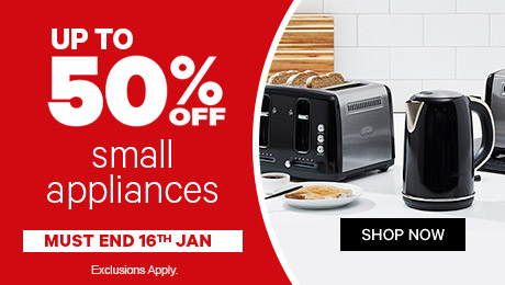 Bargain - Up to 50% OFF - Small Appliances @ Farmers