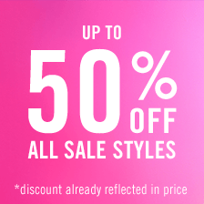 Bargain - Up to 50% OFF - All Sale Styles @ Steve Madden