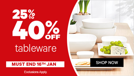 Bargain - 25-40% OFF - Tableware @ Farmers