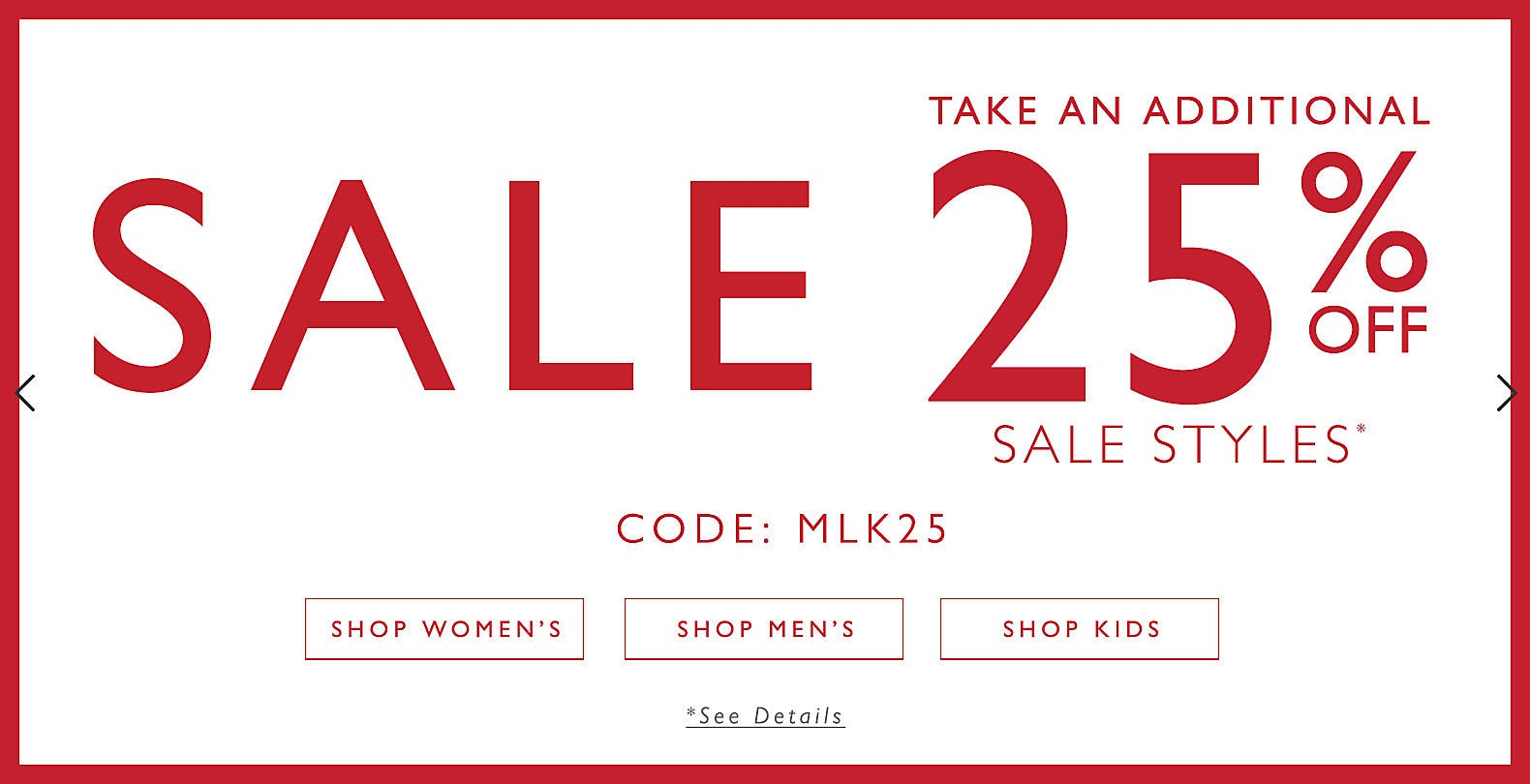 Bargain - Extra 25% OFF - Sale Styles @ Clarks