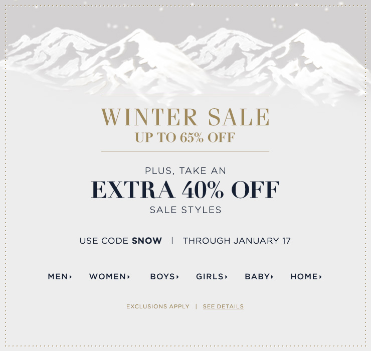 Bargain - Up to 65% OFF + Extra 40% OFF - Winter Sale Styles @ Ralph Lauren