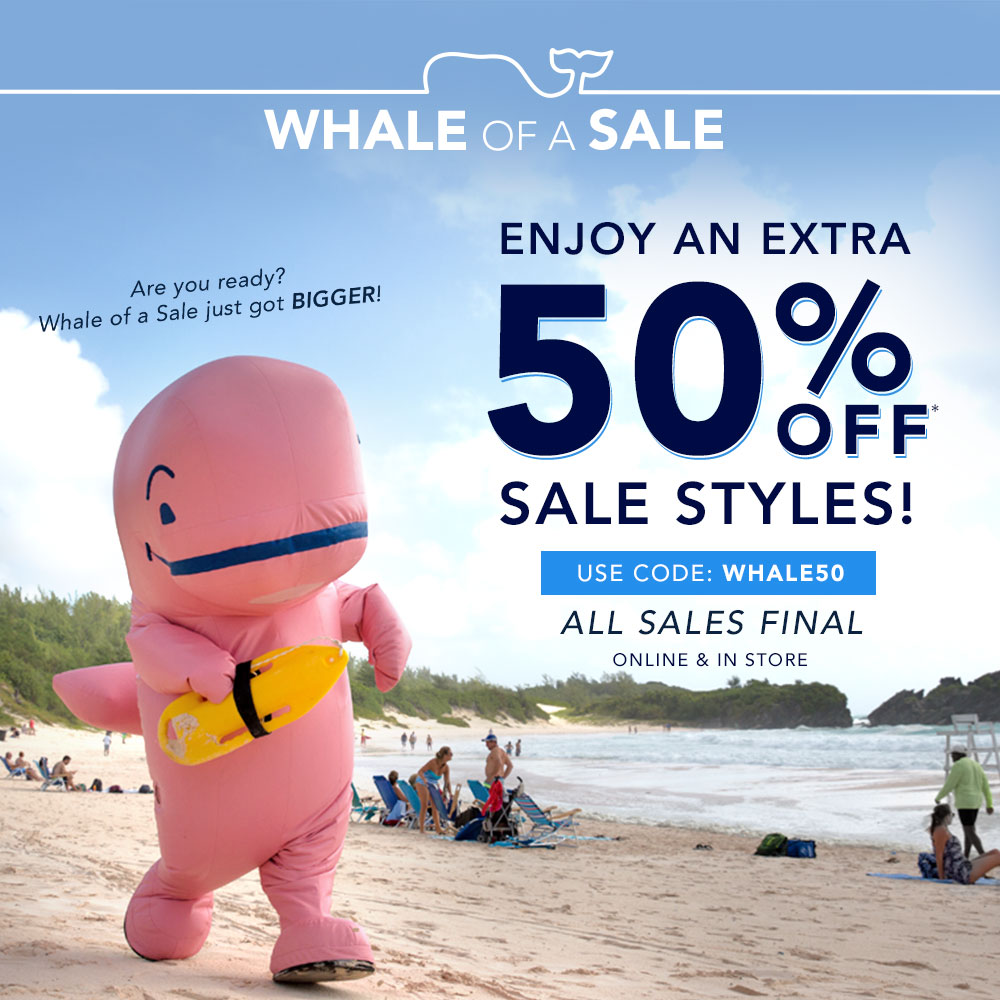 Bargain - Extra 50% OFF - Sale Styles @ Vineyard Vines