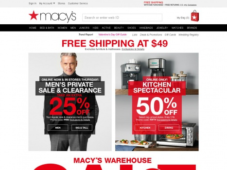 Bargain - Up to 50% OFF - Kitchenware @ Macy`s