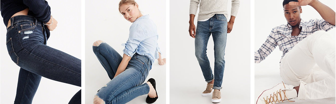 Bargain - Up to 60% OFF - Winter Sale @ Abercrombie & Fitch