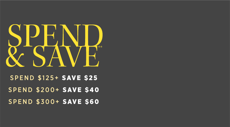 Bargain - Save up to $60 - Spend & Save @ Saks Off 5th