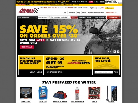 Bargain - 40% OFF - Advance Auto Parts: Car, Engine, Batteries, Brakes, Replacement, Performance & Accessories