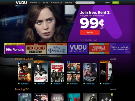 Bargain - Additional 20% OFF -  Your Next Digital Purchase or Rental @ VUDU