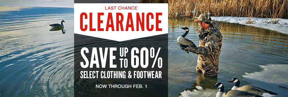 Bargain - Up to 60% OFF - Last Chance Clearance : Cabela`s
