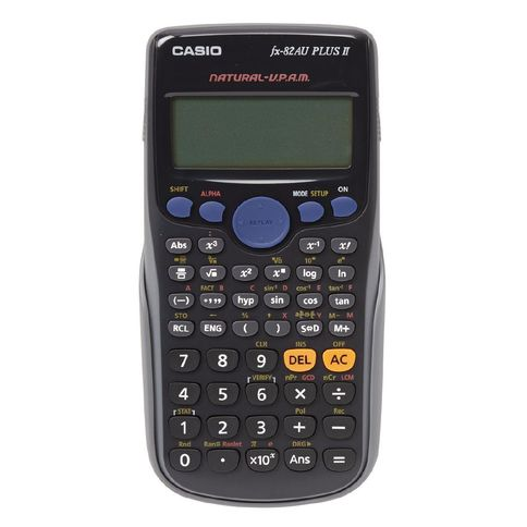 Bargain - $19.90 (Save $14) - Casio Scientific Calculator FX82AUPLUSII | The Warehouse