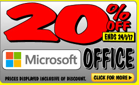 Bargain - 20% OFF - Microsoft Office @ JB Hi-Fi