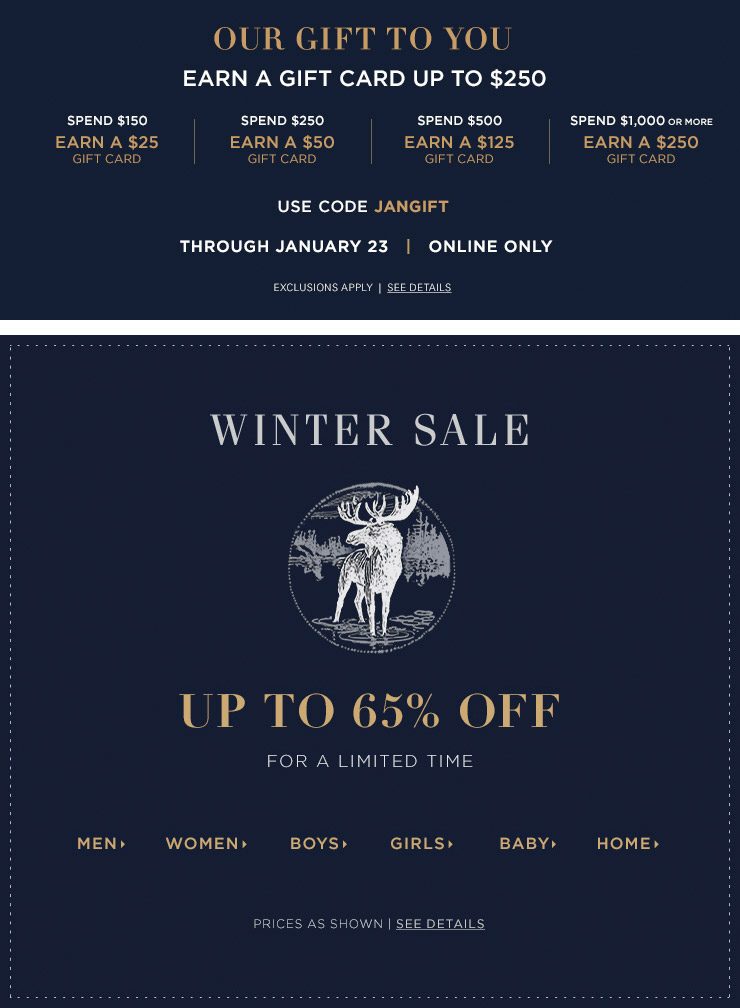 Bargain - Up to 65% OFF - Winter Sale @ Ralph Lauren