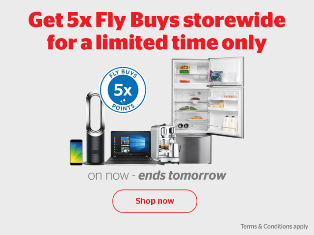 Bargain - 5x FlyBuys - 5x FlyBuys at Noel Leeming