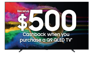 Bargain - Up to $1000 Cashback - Samsung QLED+Soundbar Cashback - Promos - Promos | Harvey Norman Australia